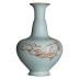 汝窑青瓷花瓶摆件手工中式景德镇仿古瓷器