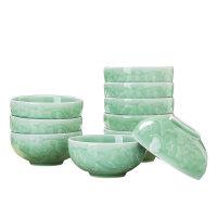 家用中式影青瓷碗餐具套装